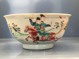 bowl famille rose yongzheng
