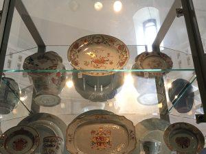 chinese export porcelain qianlong pompadour