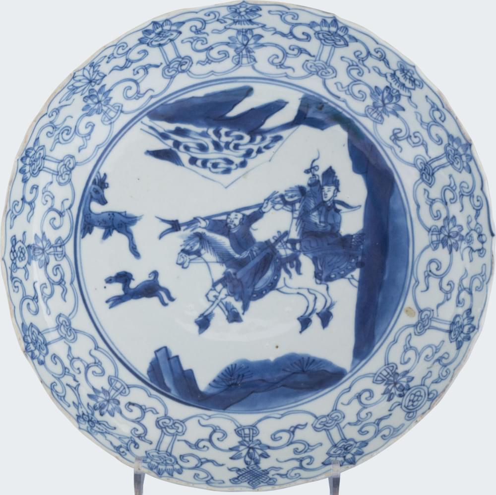 Porcelain Kangxi (1662-1722), China