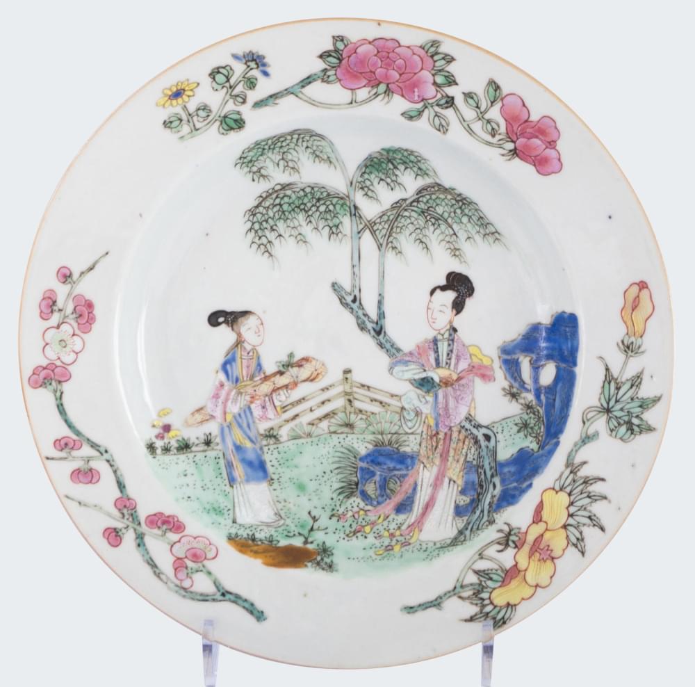 Famille rose Porcelain Yonghzeng (1723-1735), circa 1730, China