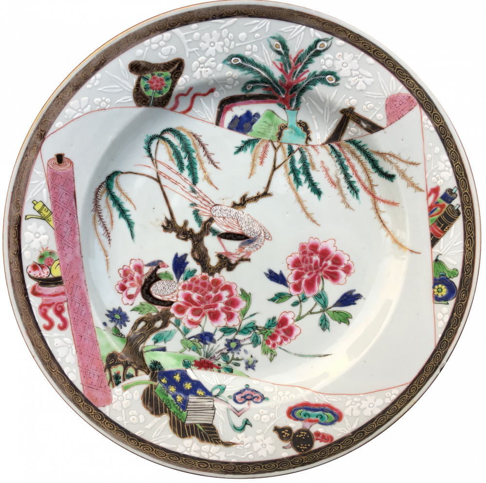 Famille rose Porcelain Yonghzeng (1723-1735), chine