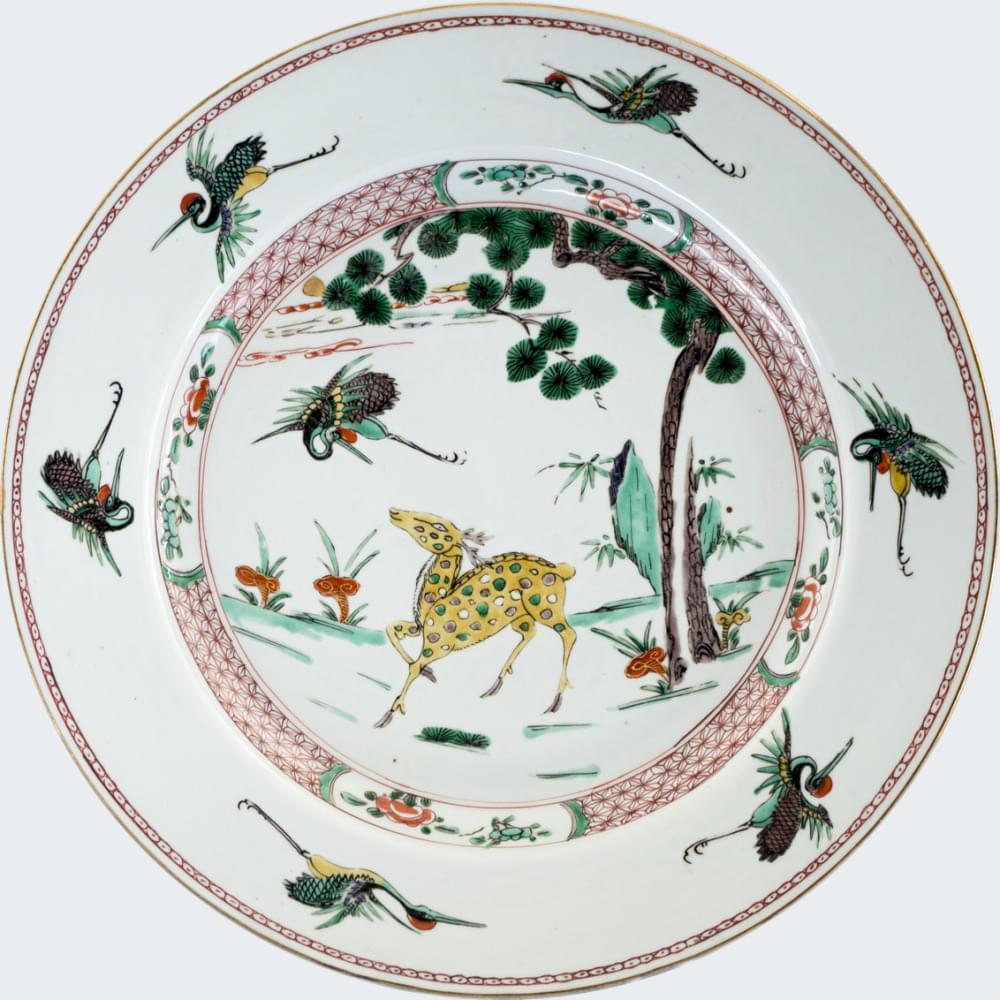 Famille verte Porcelain Kangxi (1662-1722), circa 1715, China