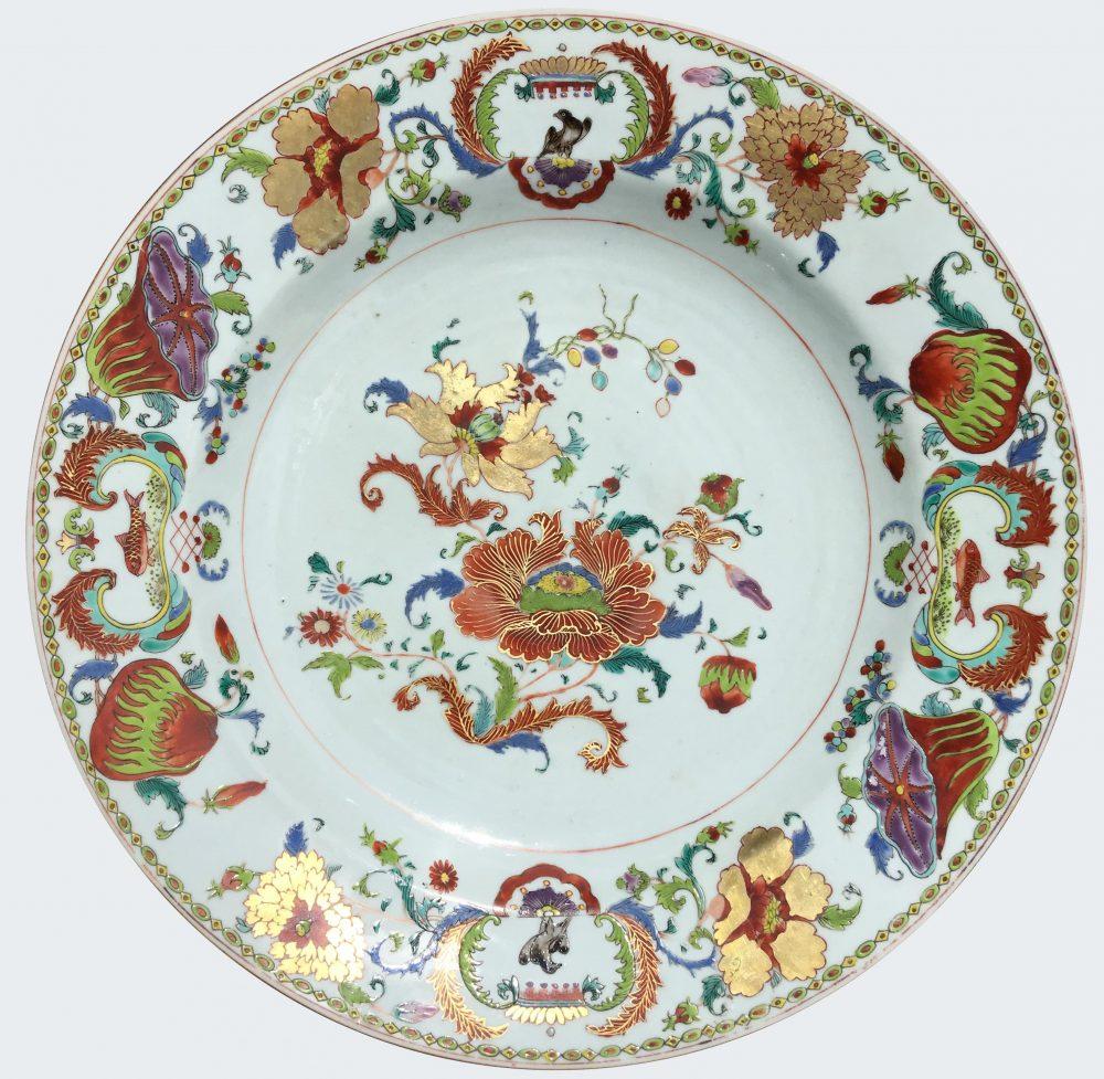 Famille rose Porcelain Yongzheng  (1723-1735) or Qianlong (1735-1795), China