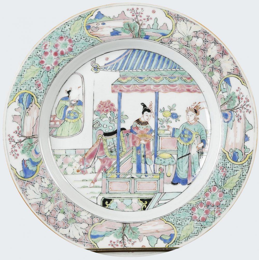 Famille verte Porcelain Yongzheng (1723-1735), circa 1723, China