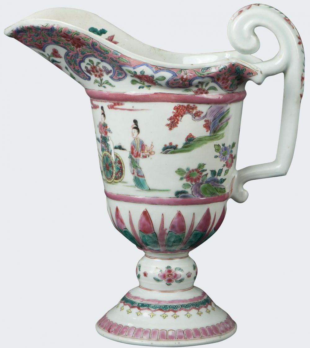 Famille rose Porcelain Yongzheng (1723-1735), vers 1725, China