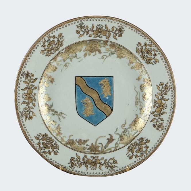 Porcelain Yongzheng (1723-1735), circa 1733, China