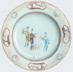 Famille rose Porcelain Late Yongzheng period (1723-1735) ; early Qianlong period (1736-1795), China