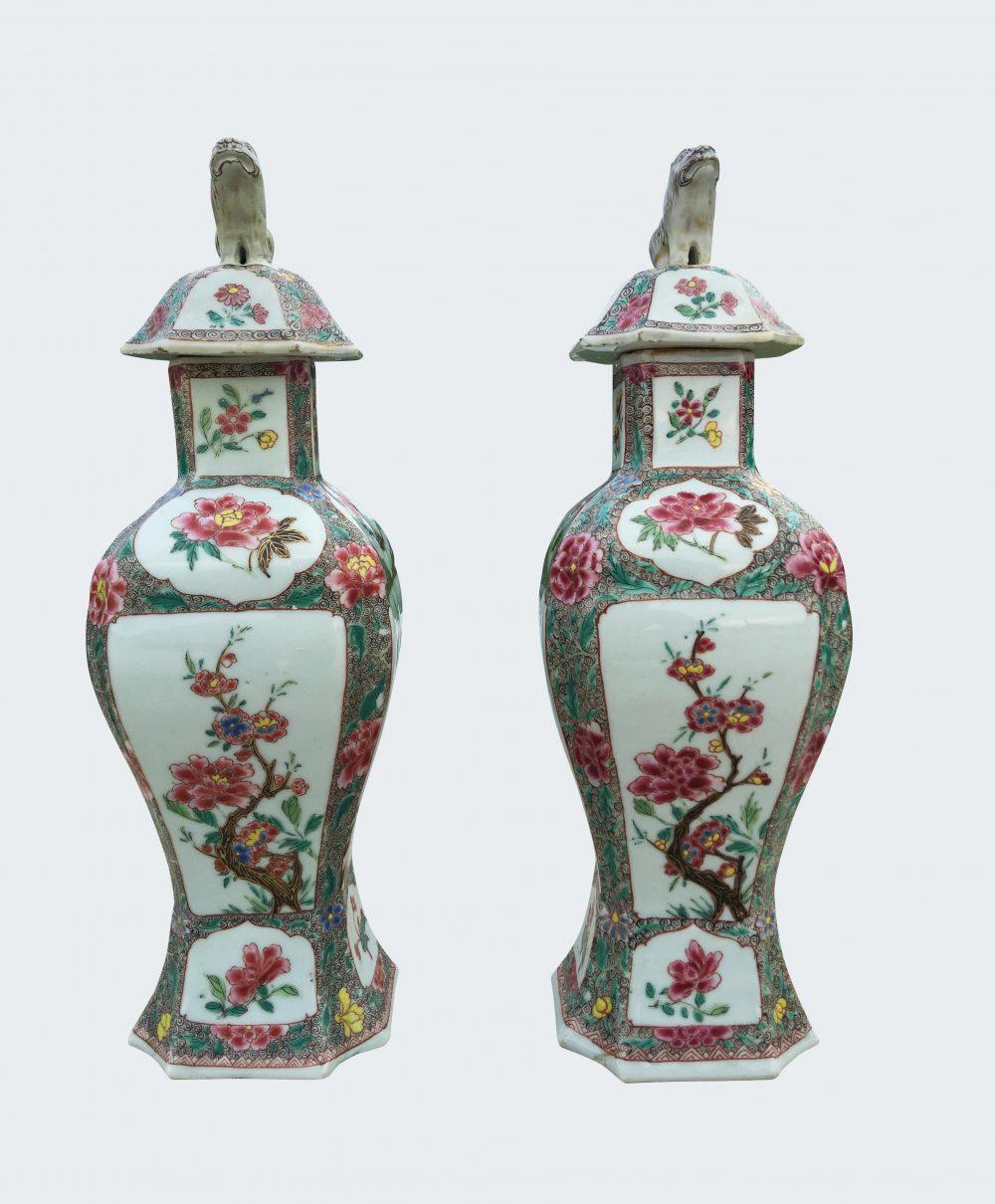 Famille rose Porcelain Qianlong period (1735-1795), circa 1730-1740, China