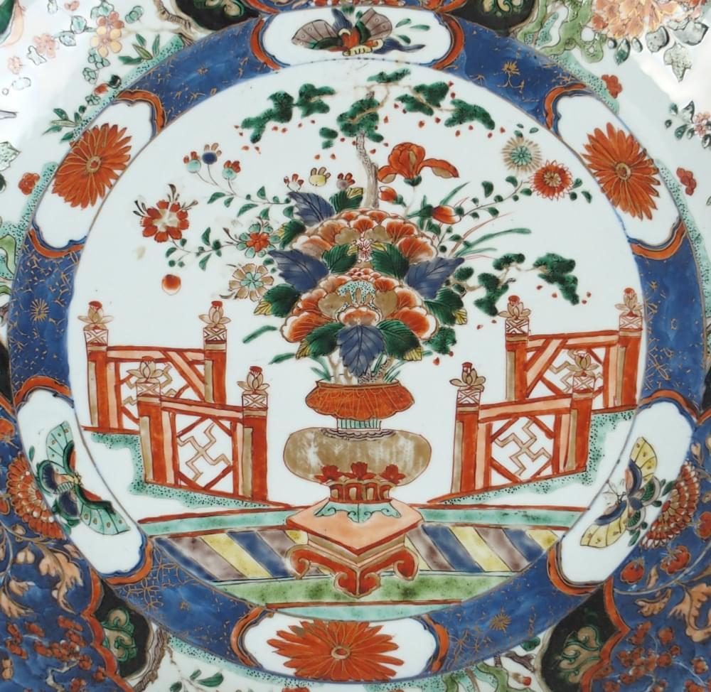 Famille verte Porcelain Kangxi (1662-1722), circa 1715/1725, China (Jingdezhen)