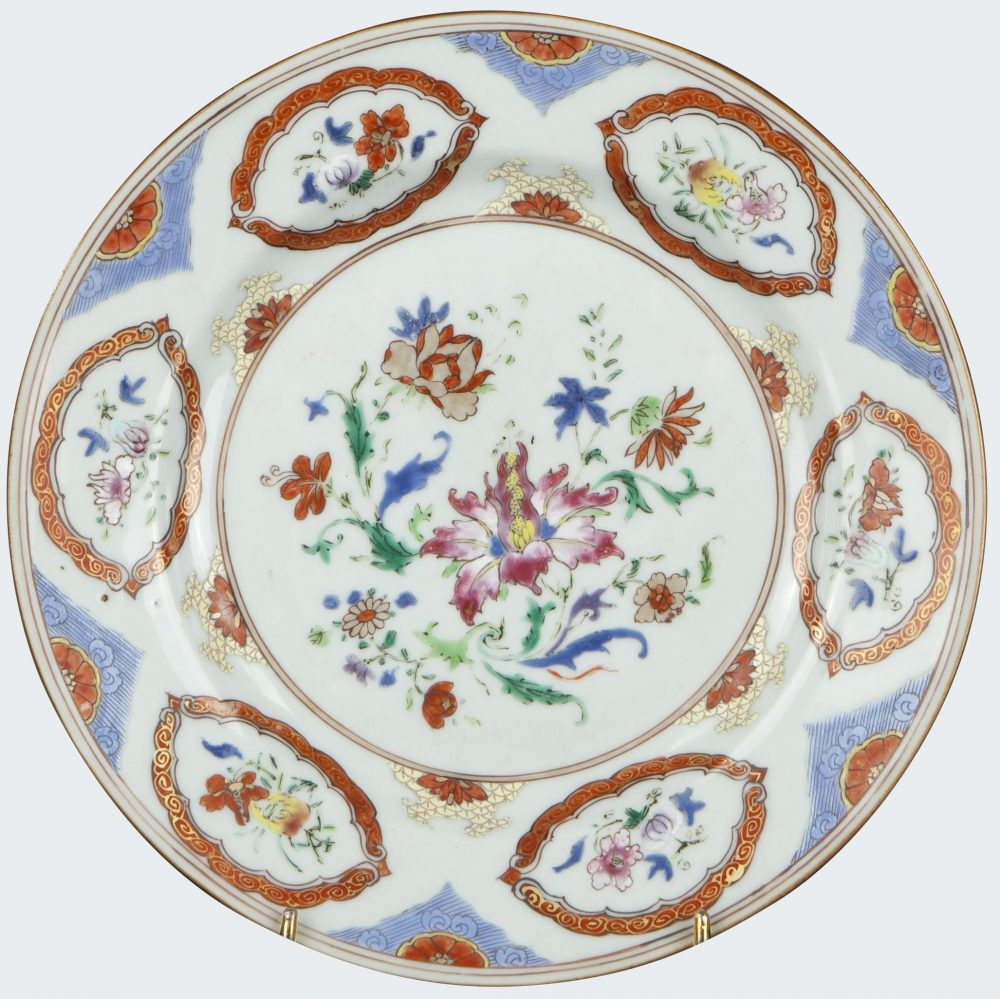Famille rose Porcelain early Qianlong period (1736-1795), China