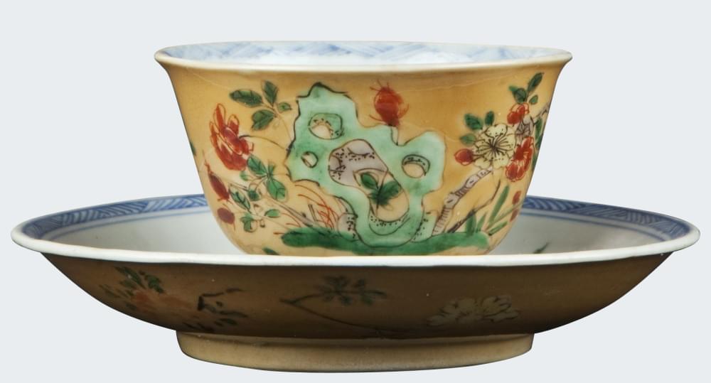 Famille verte Pocelain Kangxi (1662-1722), China
