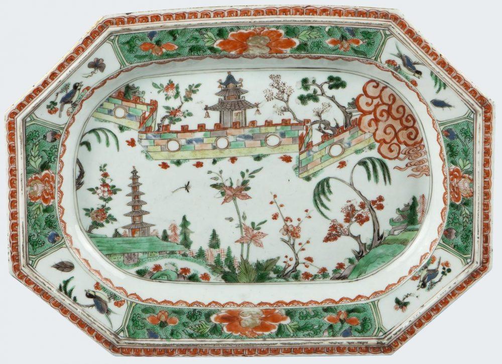 Famille verte Porcelain Kangxi (1662-1722), circa 1690-1700, China