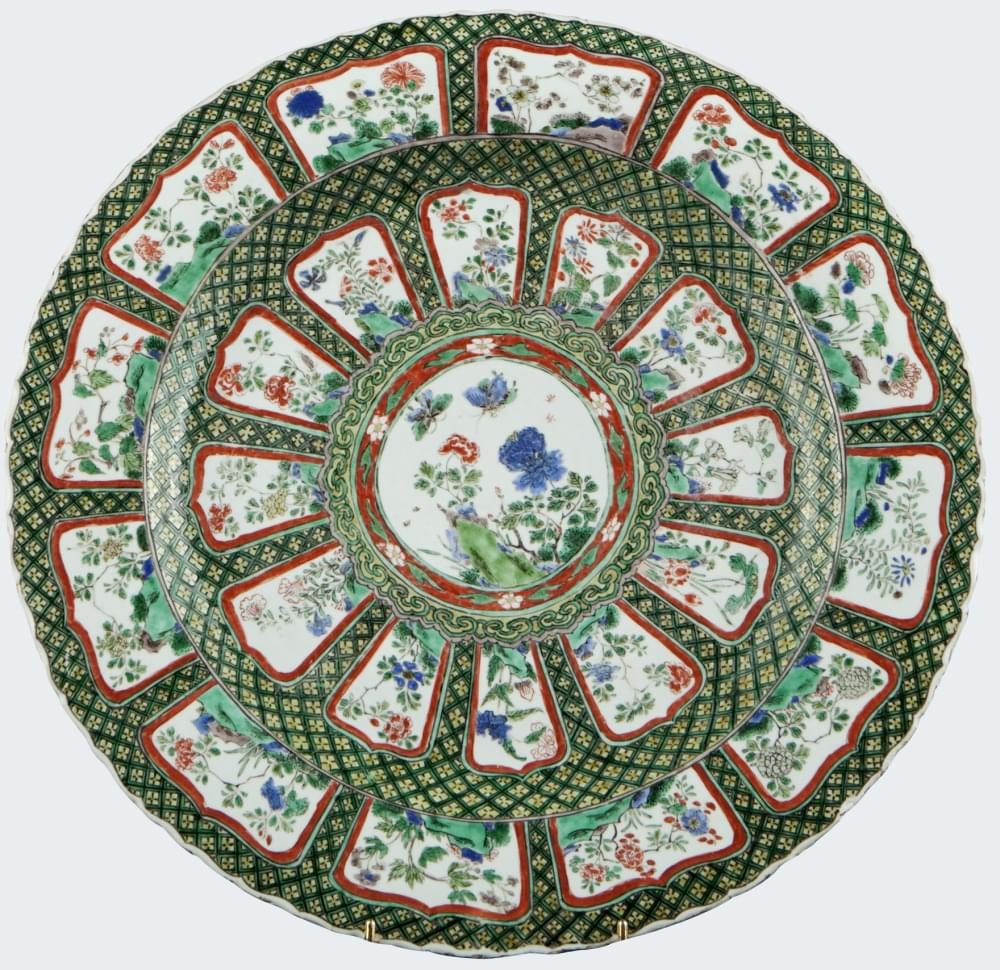 Famille verte Porcelain Kangxi (1662-1722), circa 1660/1680, China