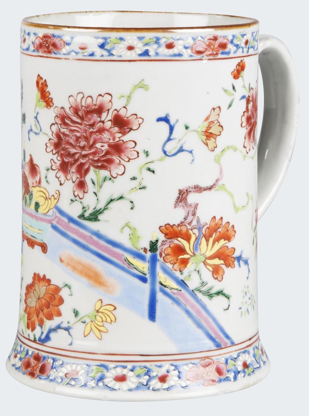 Famille rose Porcelain Yongzheng (1723 - 1735), China