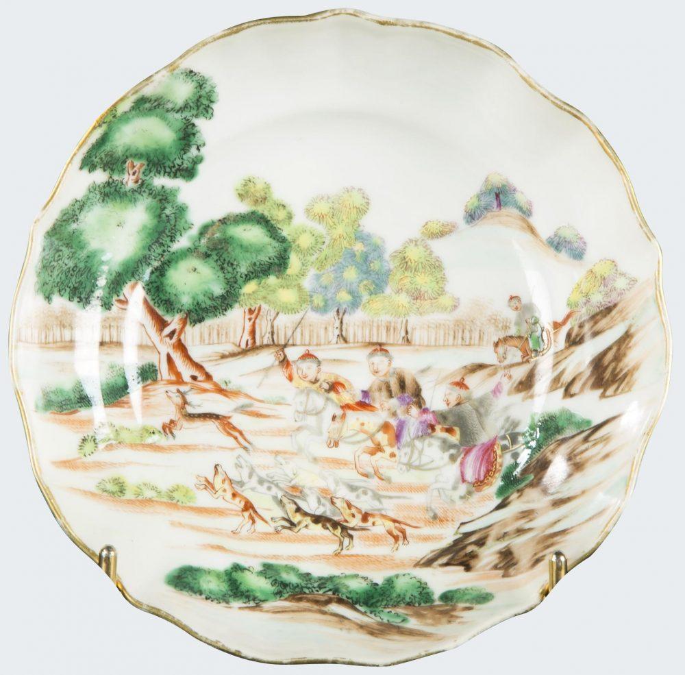 Famille rose Porcelain Qianlong (1736-1795), circa 1770-1780., China