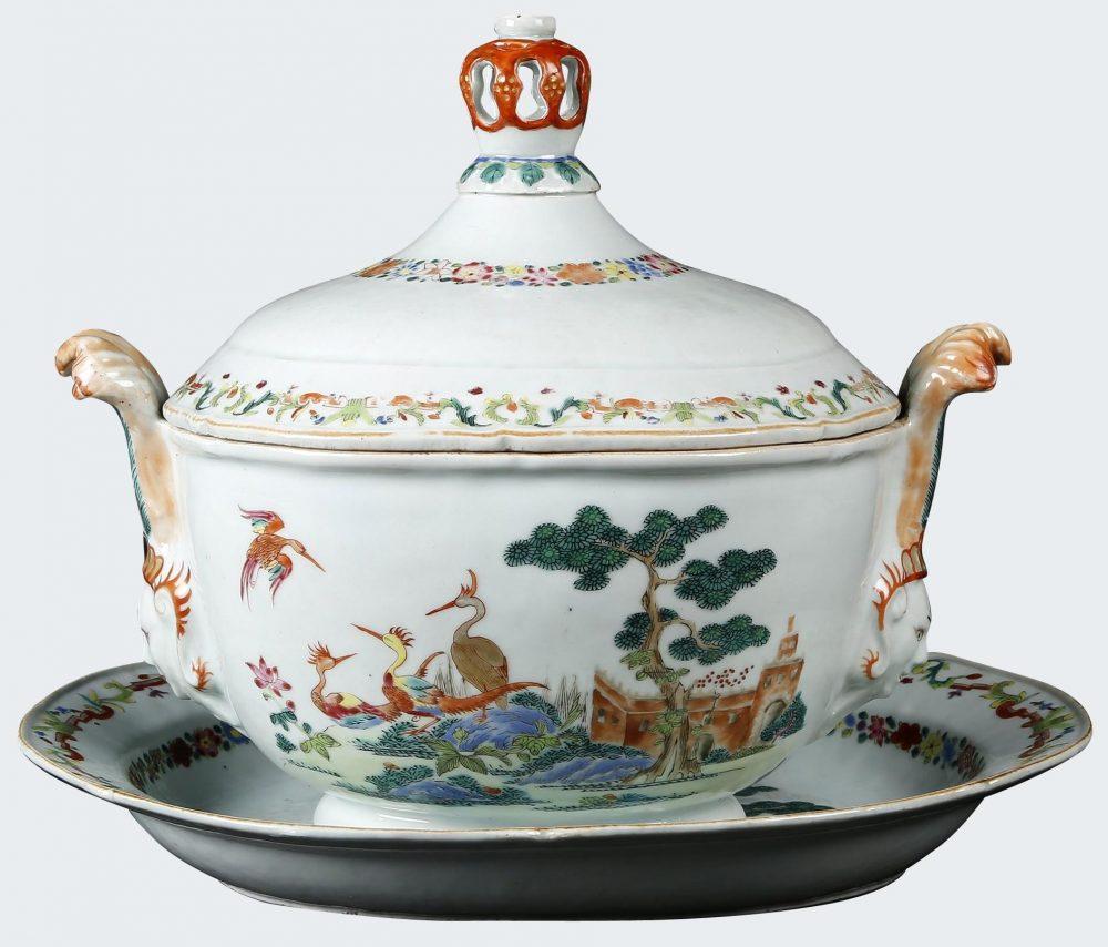 Famille rose Porcelain Qianlong (1735-1795), circa 1745, China