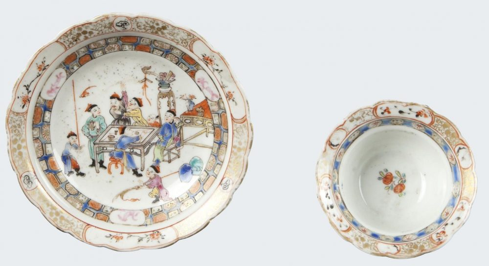 Famille rose Porcelain Qianlong ( 1735 - 1795 ), circa 1760-1770, China