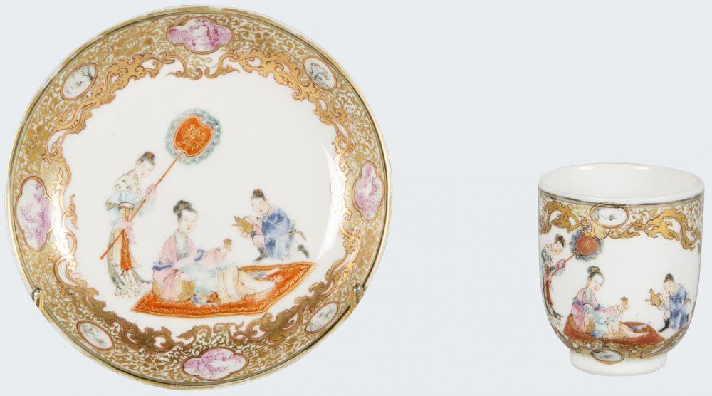 Famille rose Porcelain Late Yongzheng (1723-1735), early Qianlong (1735-1795), China