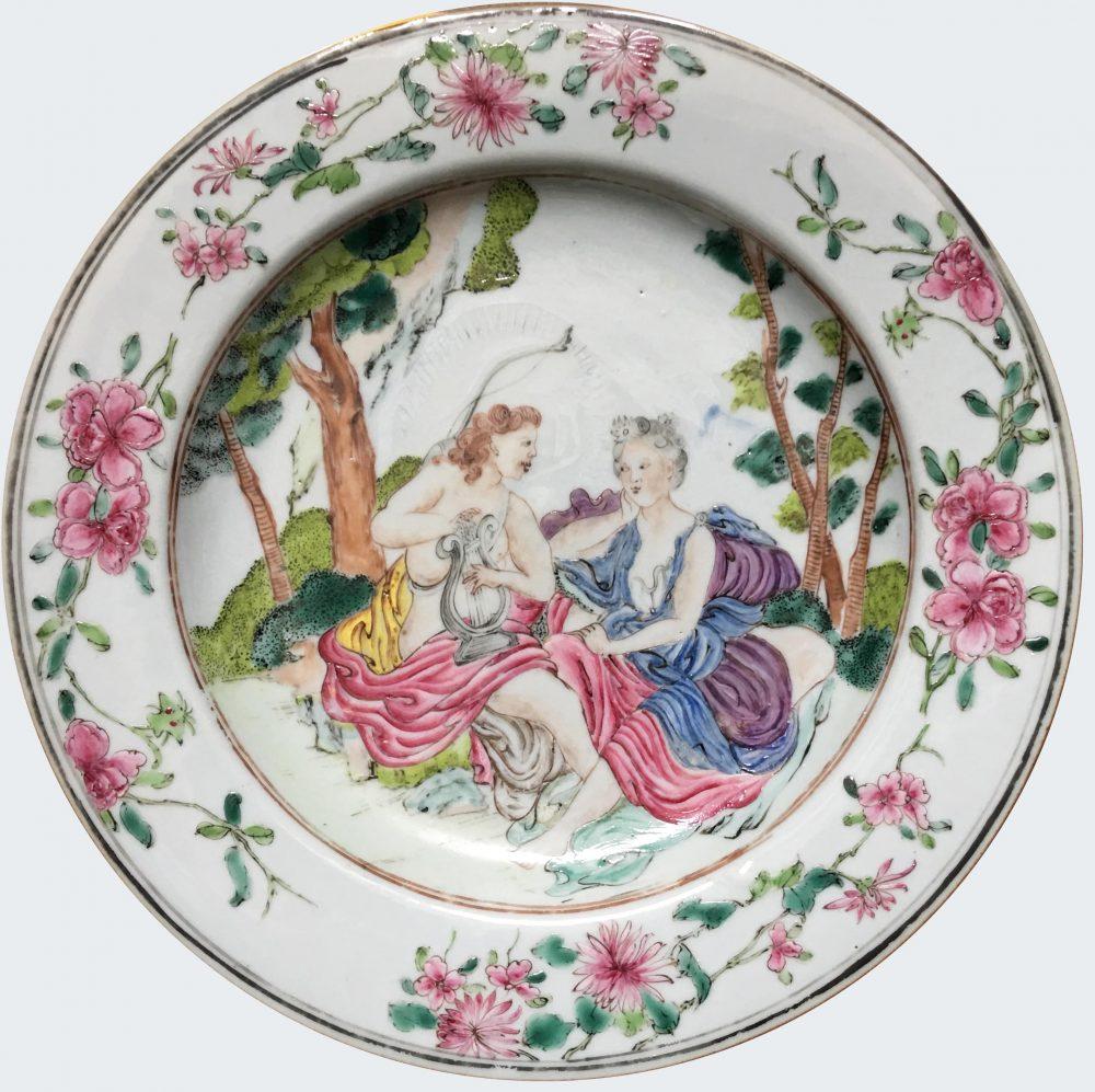 Famille rose Porcelain Yongzheng period (1723-1735), circa 1735, China