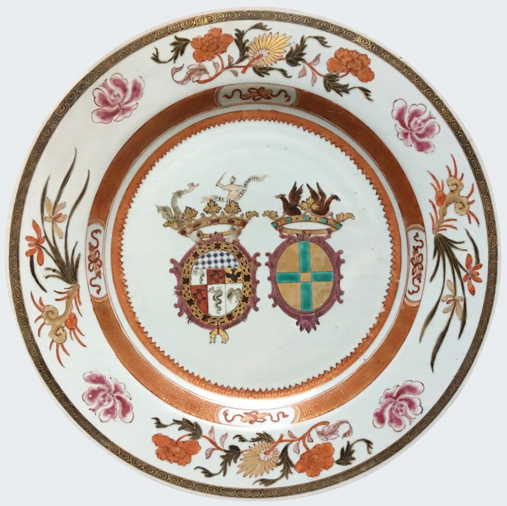 Famille rose Porcelain Yongzheng (1723-1735), vers 1722, China