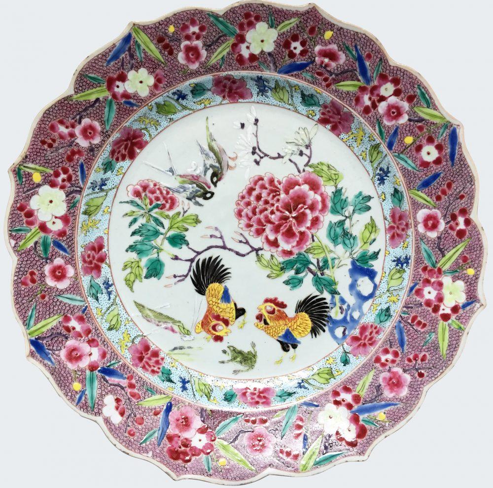 Porcelain Late Yongzheng (1723-1735), early Qianlong (1736-1795), Chine