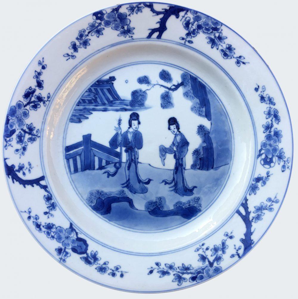 Porcelain  Kangxi (1662-1722), Jiajing apogryphal mark (1522-1566), China