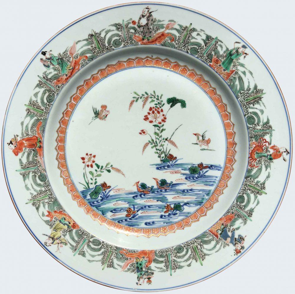 Famille verte Porcelain Kangxi (1662-1722), circa 1720, China