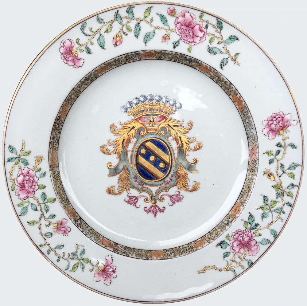 Porcelain Yongzheng (1723-1735), circa 1730, China