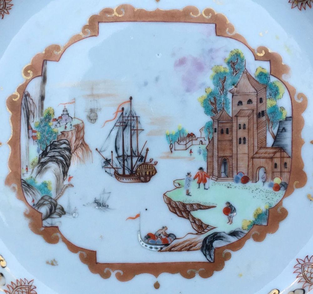 Porcelain Qianlong (1736-1795), circa 1740, China