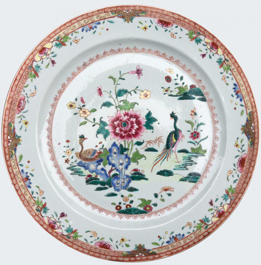 Famille rose Porcelain Qianlong (1736-1795), circa 1775, China