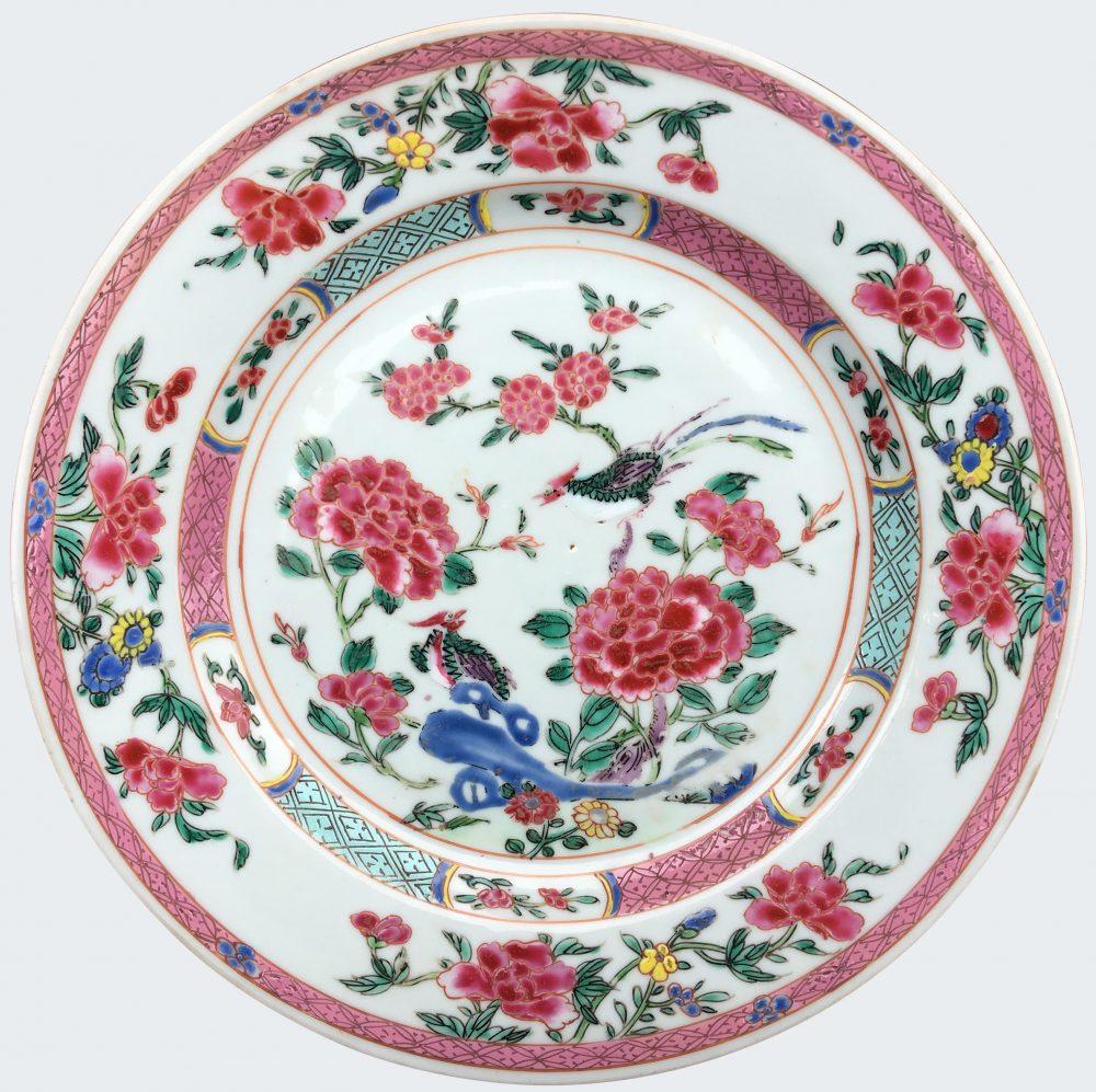 Porcelaine Late Yongzheng period (1723-1735), early Qianlong period (1736-1795), Chine