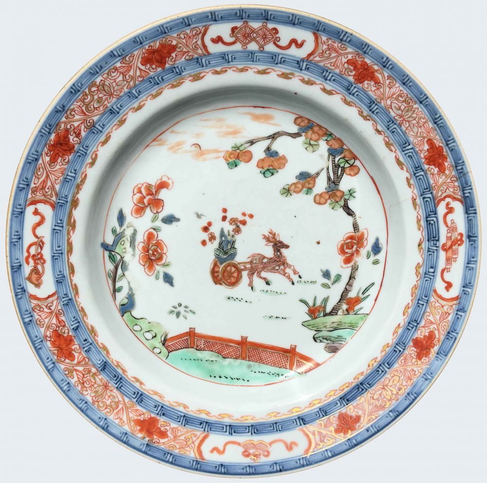 Porcelaine Kangxi (1662-1722) or Yongzheng period (1723-1735), China