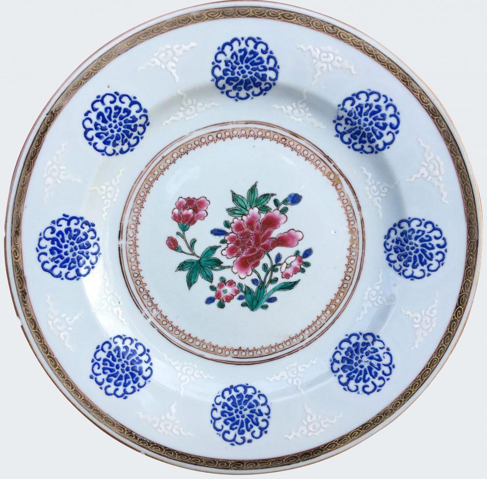 Famille rose Porcelain Yongzhenh (1723-1735), China