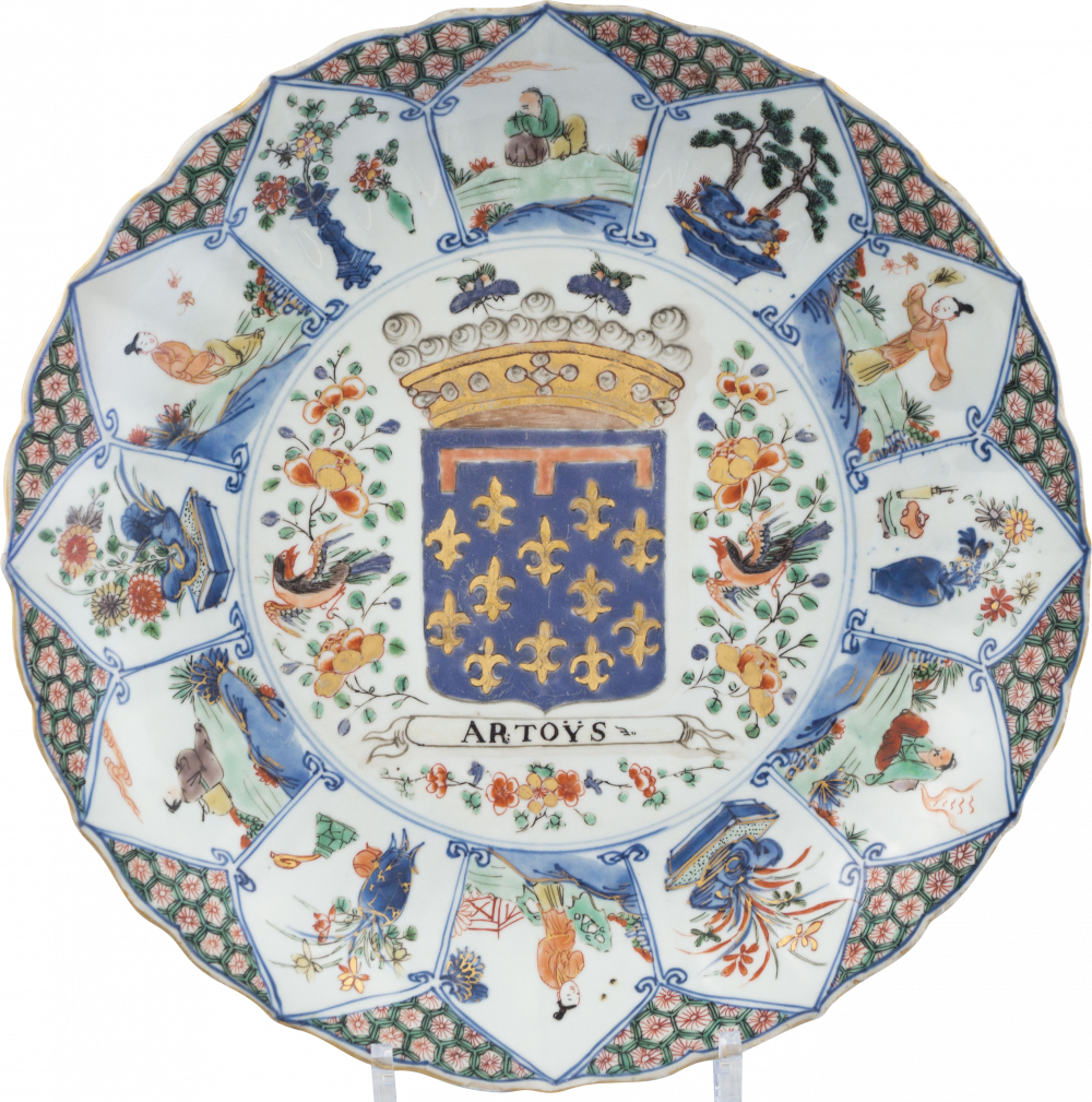 Famille verte Porcelaine Kangxi (1662-1722), circa 1710-1725, China
