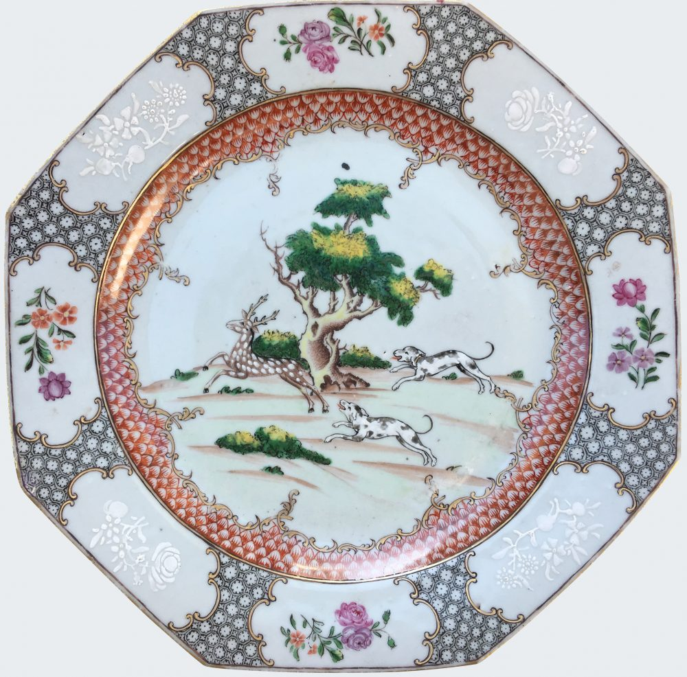 Famille rose Porcelaine Qianlong (1735-1795), circa 1740-1750, China