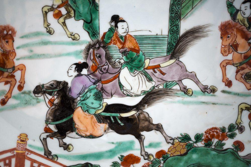 Famille verte Porcelain Kangxi (1662-1722), circa 1710, China