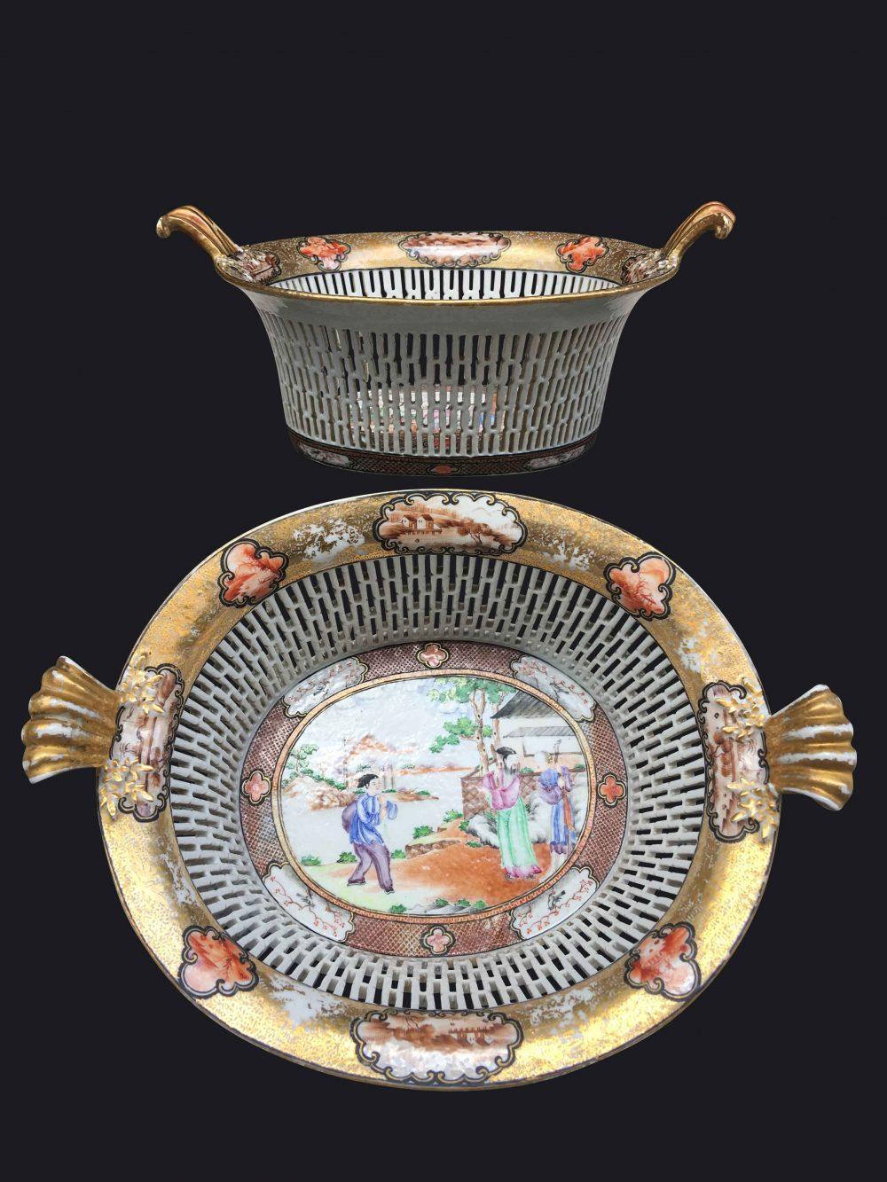 Famille rose Porcelain Late Qianlong (1736-1795), circa 1790-1800, China