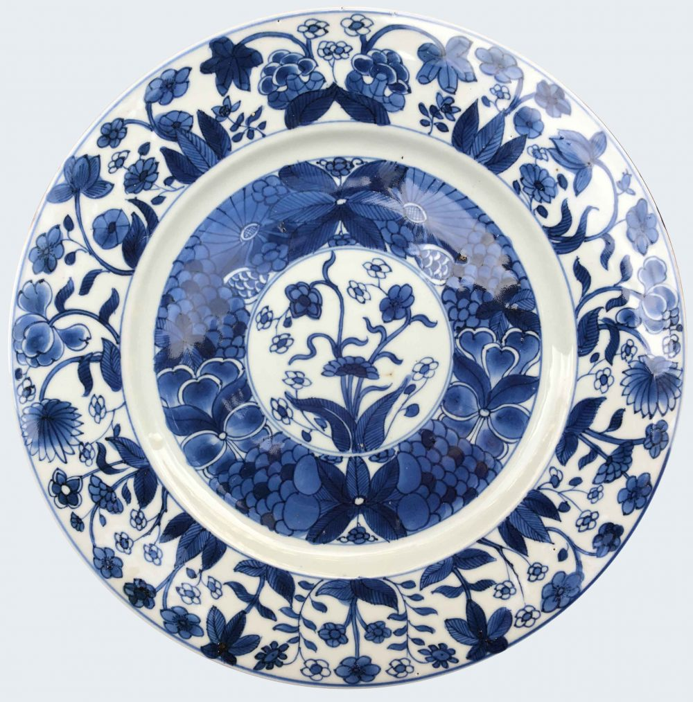 Porcelaine  kangxi (1662-1722), circa 1710, China