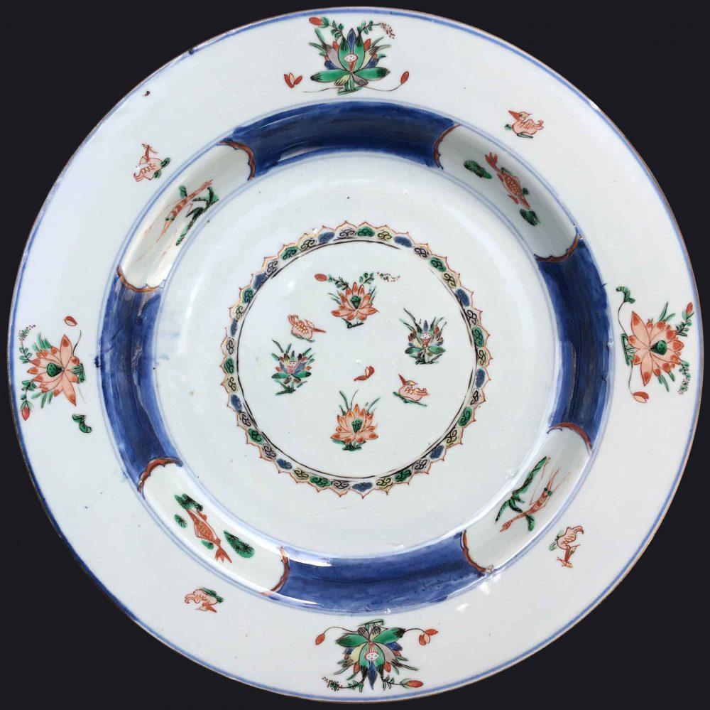 Famille verte Porcelain Kangxi (1662-1722), circa 1710, Chine