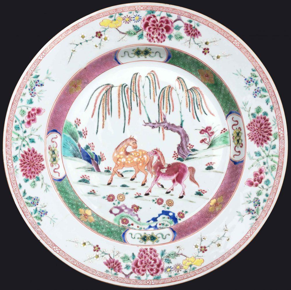 Famille rose Porcelain Yongzheng (1723-1735), circa 1730 , China (Jingdezhen kilns, Jiangxi province)