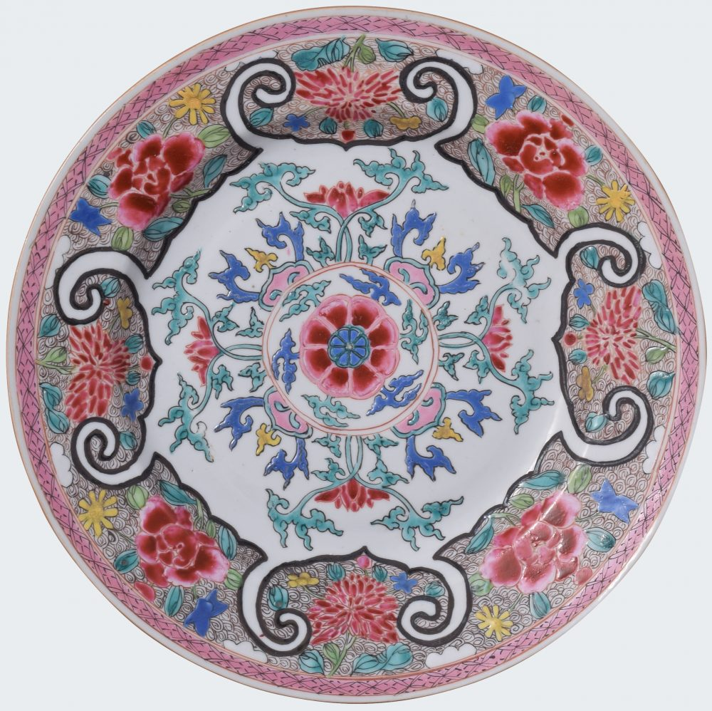 Famille rose Porcelain Yongheng (1723-1735), China