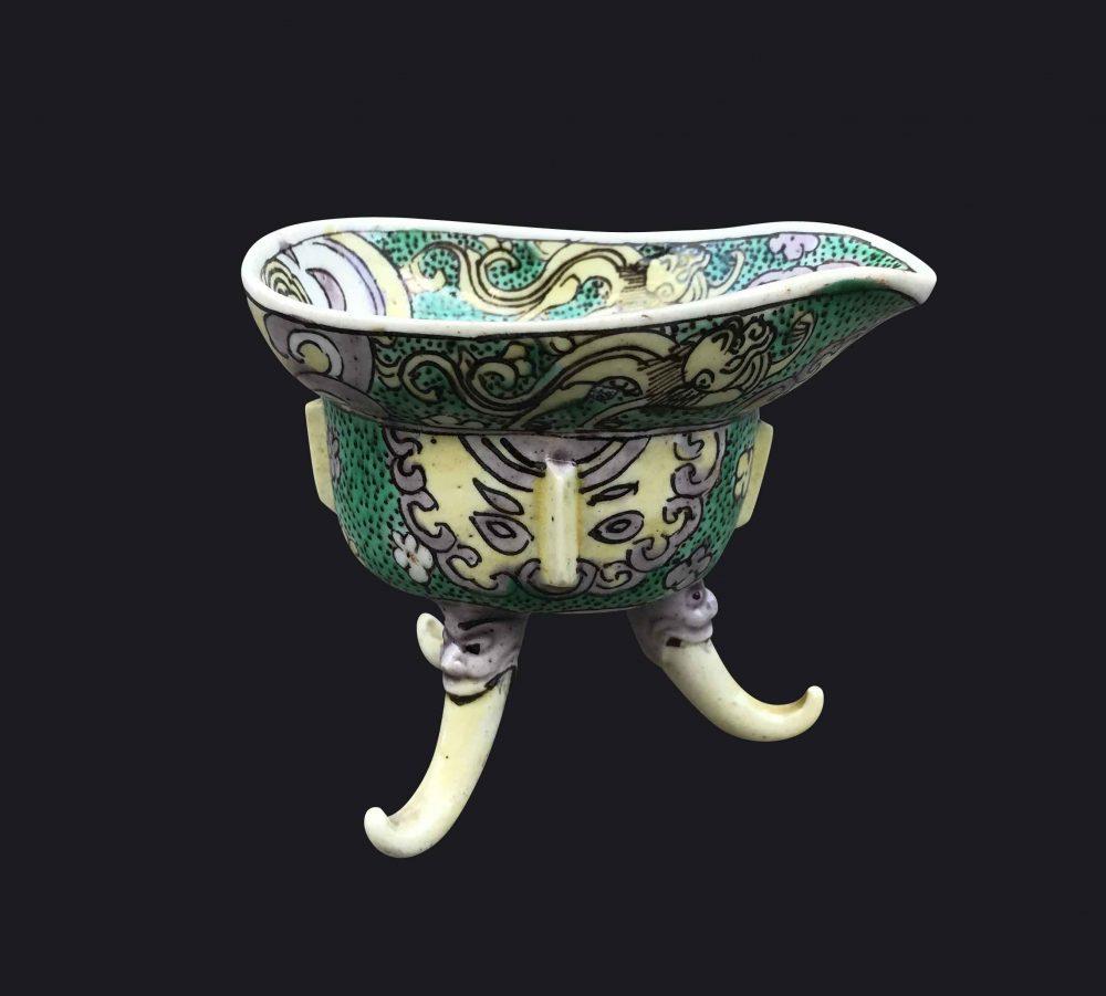 Famille verte Porcelain Kangxi (1662-1722), China