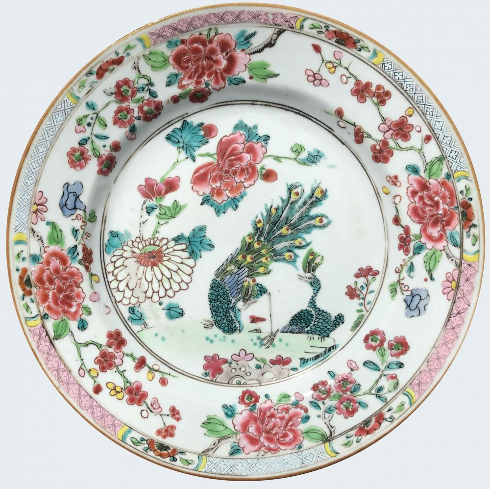 Famille rose Porcelain Late Yongzheng (1723-1735), early Qianlong (1736-1795), circa 1730-1740, China