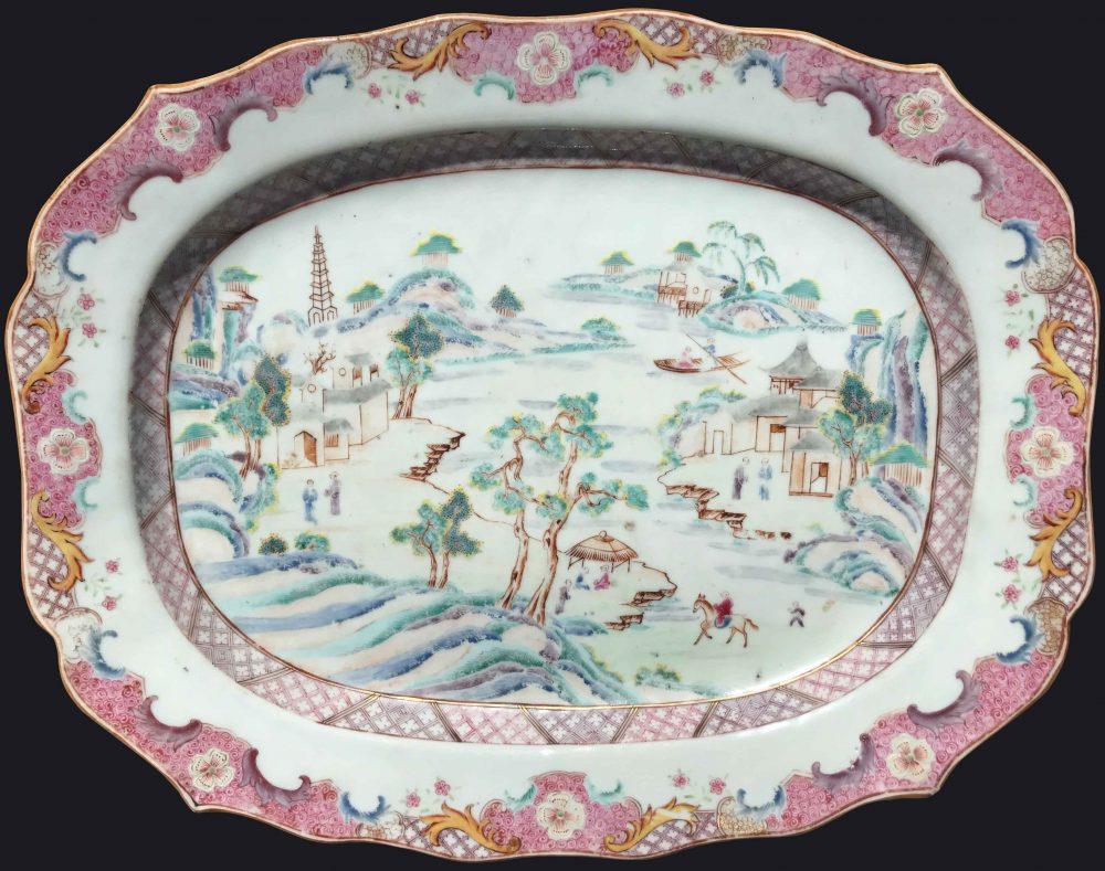 Famille rose Porcelain Qianlong (1736-1795), circa 1740/1750, China