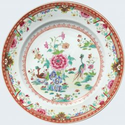 Famille rose Porcelain Qianlong (1736-1795), circa 1775, China
