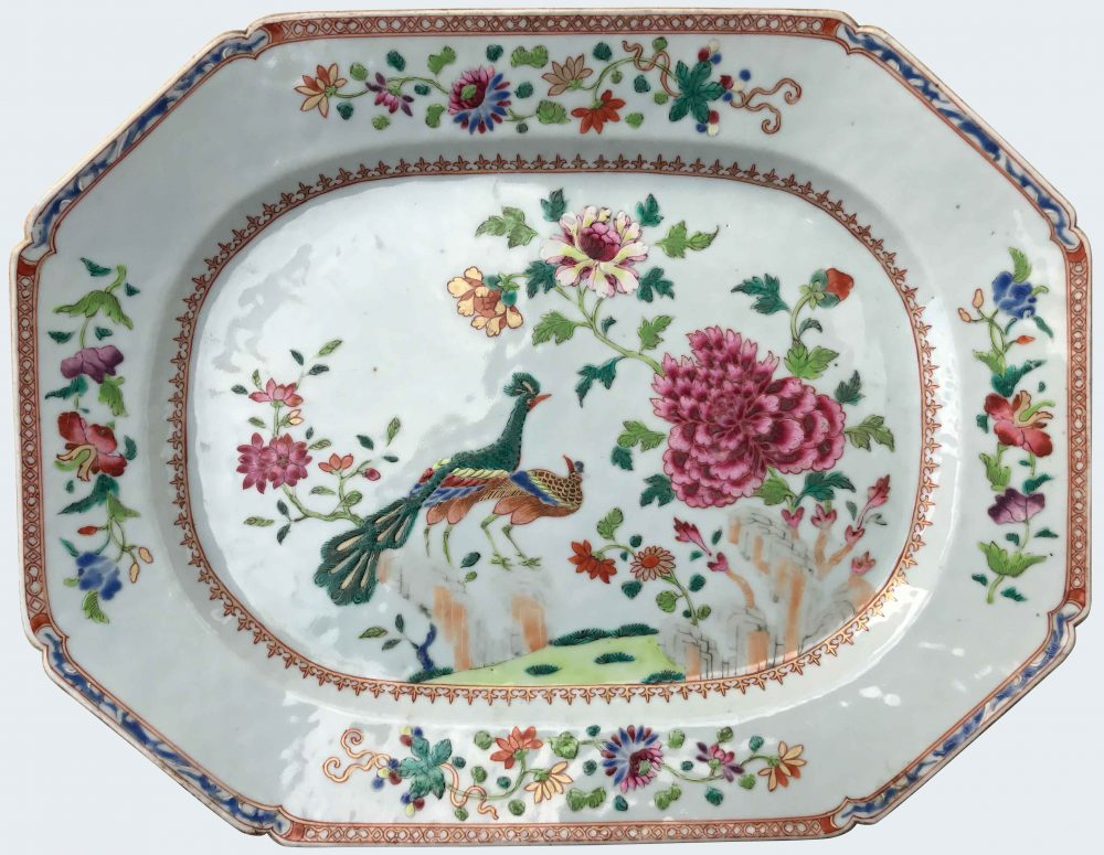 Famille rose Porcelain Qianlong (1735-1795), circa 1760, China