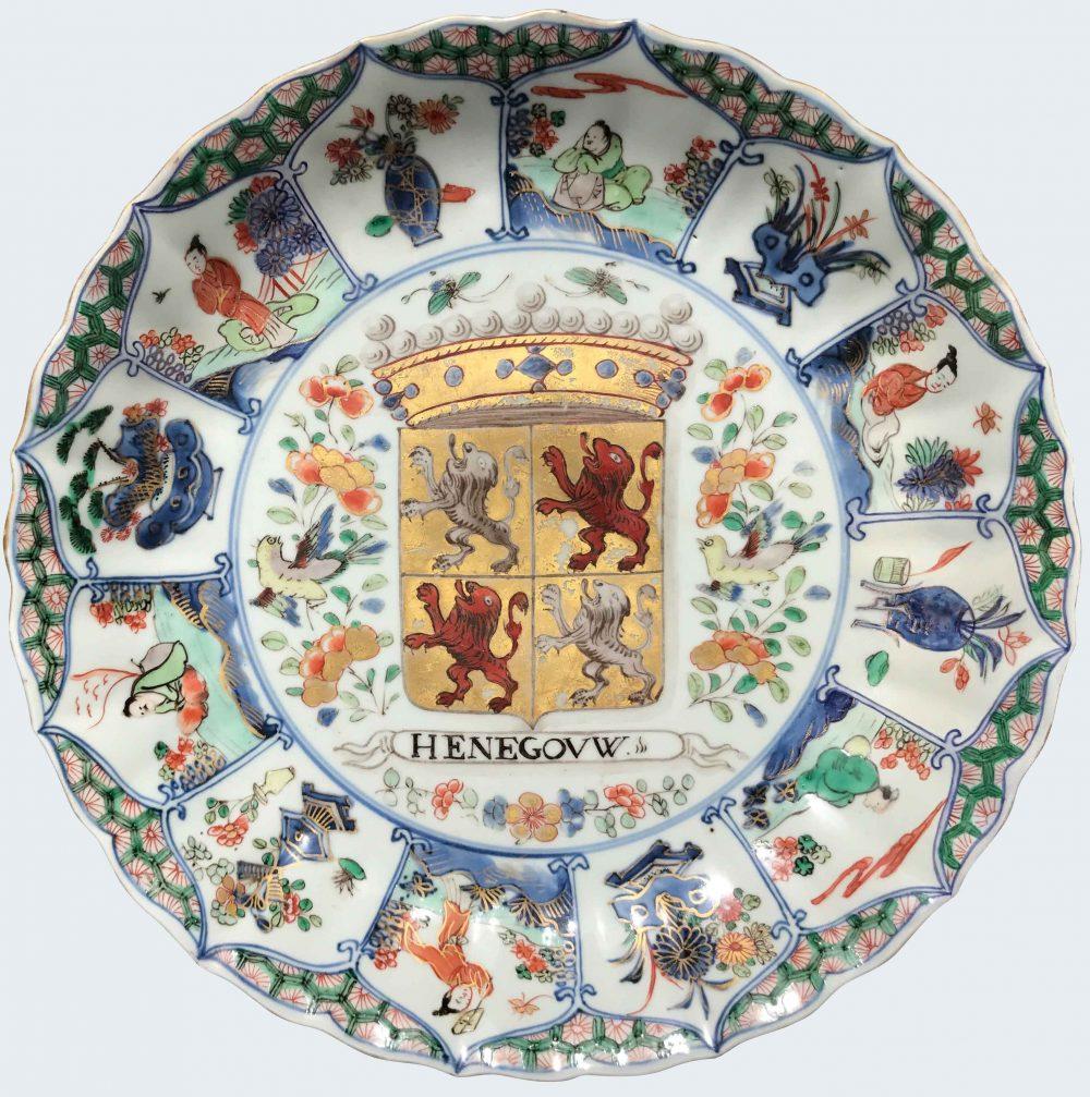 Famille verte Porcelain Kangxi (1662-1722), circa 1700-1725, China