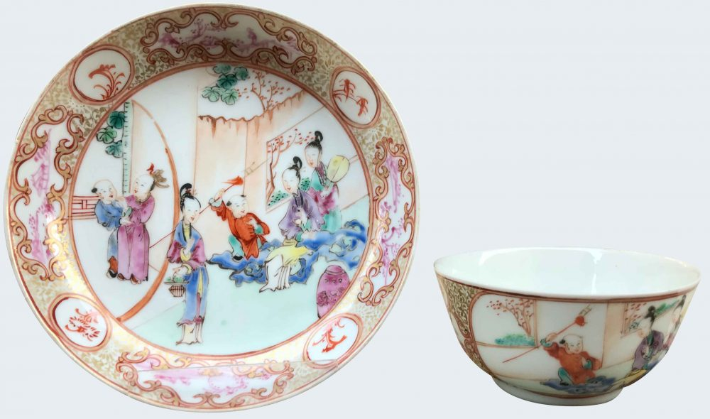 Famille rose Porcelain Qianlong (1735-1795), circa 1740/50, China