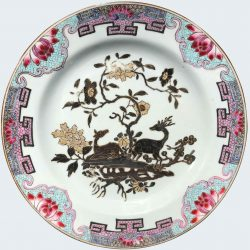 Famille rose Porcelaine Yongzheng (1723-1735), circa 1730/40, China
