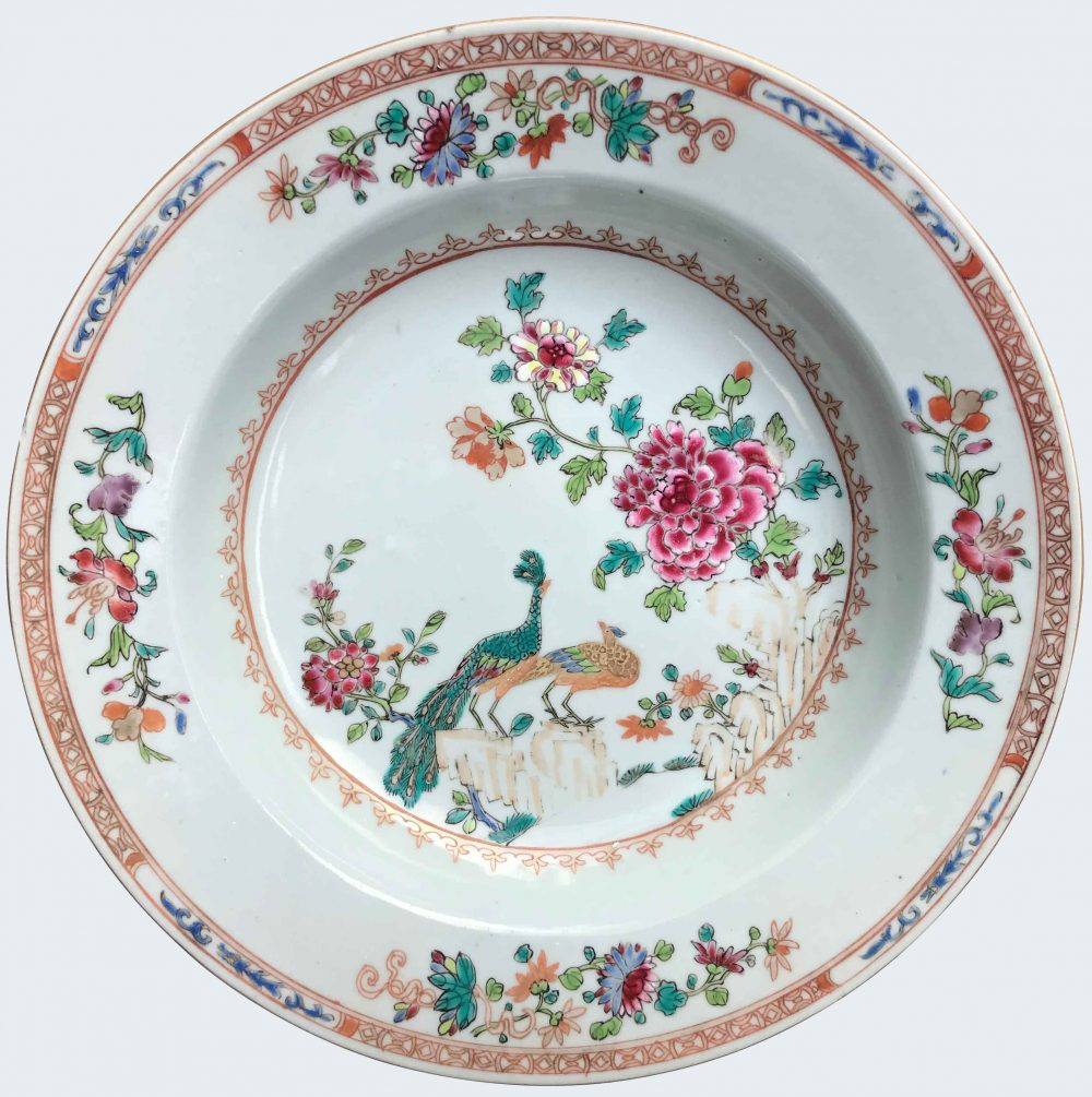 Famille rose Porcelaine Qianlong (1735-1795), circa 1760, China